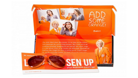 Direct Mailing | Add Some Orange