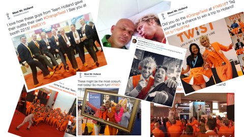 Social Media Mr Holland campagne