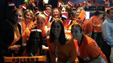 WK NED-ARG   Rileys Londen